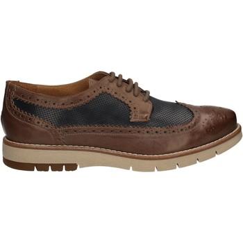 Topánky Muži Derbie Keys 3047 Hnedá