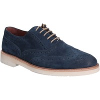 Topánky Muži Derbie Maritan G 140358 Modrá
