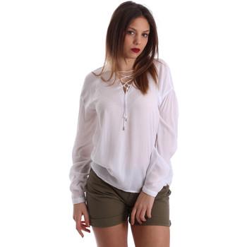 Oblečenie Ženy Blúzky Gaudi 73BD47209 Biely