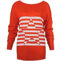 Oblečenie Ženy Svetre Denny Rose 73DR15013 Oranžová