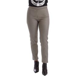 Oblečenie Ženy Nohavice Chinos a Carrot Gaudi 64FD20235 čierna