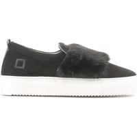 Topánky Ženy Slip-on Date A251-SL-FU-BK čierna