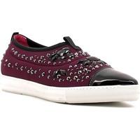 Topánky Ženy Slip-on Alberto Guardiani GD33191B Fialový