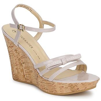 Topánky Ženy Sandále Peter Kaiser RUTH Béžová