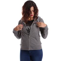 Oblečenie Ženy Mikiny Key Up SIX2 0001 Šedá