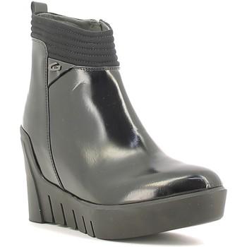 Topánky Ženy Čižmičky Alberto Guardiani SD57522B čierna