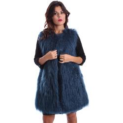 Oblečenie Ženy Kabáty Gazel AB.CS.GL.0001 Modrá