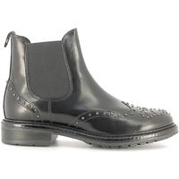 Topánky Ženy Čižmičky Soldini 19960-B čierna