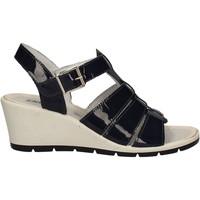 Topánky Ženy Sandále Enval 7986 Modrá