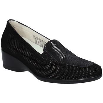 Topánky Ženy Mokasíny Melluso R30506F čierna