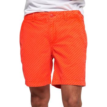 Oblečenie Muži Plavky  Superdry M71012KT Oranžová