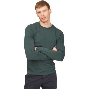 Oblečenie Muži Tričká s dlhým rukávom Gas 300187 Zelená