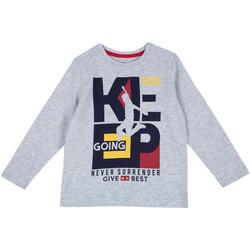 Oblečenie Deti Tričká s dlhým rukávom Chicco 09006867000000 Šedá