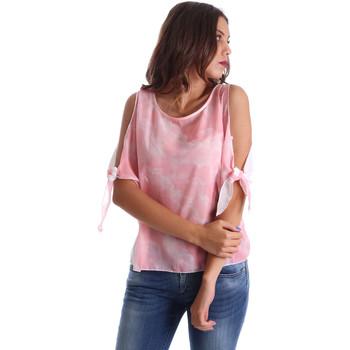 Oblečenie Ženy Blúzky Fornarina BE17T532CA11C5 Ružová