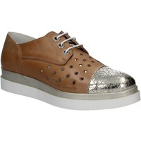 Topánky Ženy Derbie Keys 5107 Hnedá