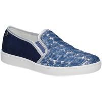 Topánky Ženy Slip-on Keys 5051 Modrá