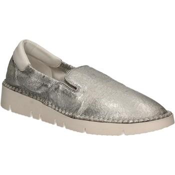 Topánky Ženy Slip-on Keys 5075 Striebro