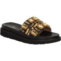 Topánky Ženy športové šľapky Byblos Blu 672102 čierna