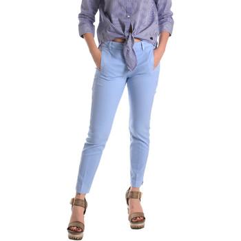 Oblečenie Ženy Nohavice Chinos a Carrot Fornarina BE171L74G29118 Modrá