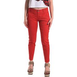 Oblečenie Ženy Nohavice Chinos a Carrot Fornarina BE171L74G29176 Červená