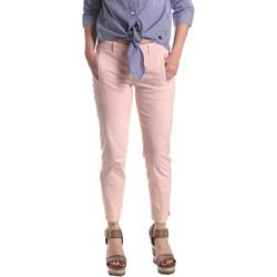 Oblečenie Ženy Nohavice Chinos a Carrot Fornarina BE171L74G291C5 Ružová