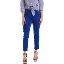 Oblečenie Ženy Nohavice Chinos a Carrot Fornarina BE171L75G29112 Modrá