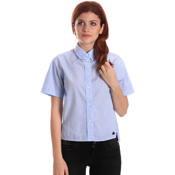 Oblečenie Ženy Košele a blúzky Fornarina BE174567CA1218 Modrá