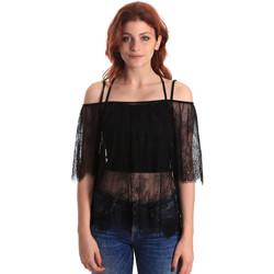 Oblečenie Ženy Blúzky Fornarina BE174575H26700 čierna
