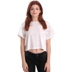 Oblečenie Ženy Blúzky Fornarina BE175J88JG1309 Biely
