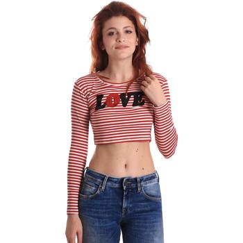 Oblečenie Ženy Tričká s dlhým rukávom Fornarina BE175L14JG0976 Červená