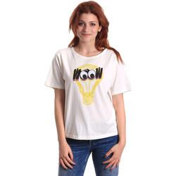 Oblečenie Ženy Tričká s krátkym rukávom Fornarina BE175L27JG1608 Biely
