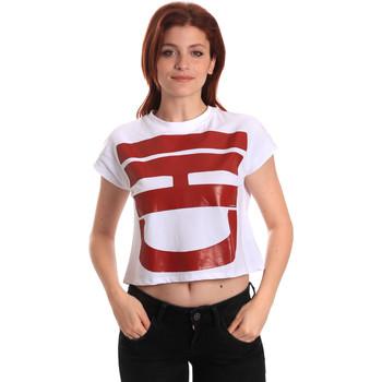 Oblečenie Ženy Tričká s krátkym rukávom Fornarina BE175L31JG0709 Biely