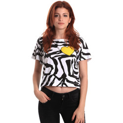 Oblečenie Ženy Tričká s krátkym rukávom Fornarina BE175L35JG0700 čierna