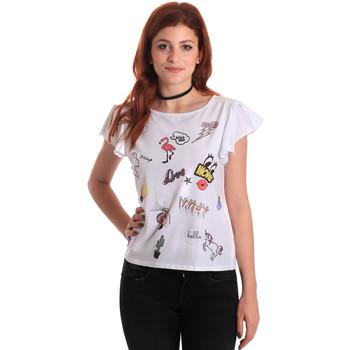 Oblečenie Ženy Tričká s krátkym rukávom Fornarina BE175L40JG0709 Biely