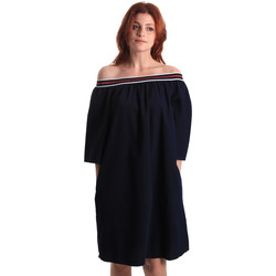 Oblečenie Ženy Krátke šaty Fornarina BE178D60D883NT Modrá
