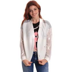 Oblečenie Ženy Bundy  Fornarina SE173C37I06809 Biely