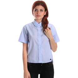 Oblečenie Ženy Košele a blúzky Fornarina SE174567CA1218 Modrá