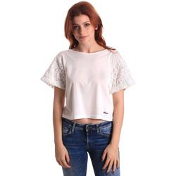 Oblečenie Ženy Blúzky Fornarina SE175J88JG1309 Biely