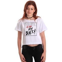 Oblečenie Ženy Tričká s krátkym rukávom Fornarina SE175L28JG0709 Biely