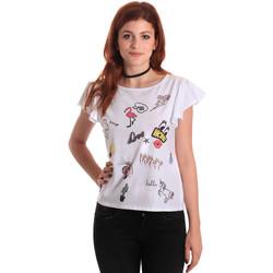 Oblečenie Ženy Blúzky Fornarina SE175L40JG0709 Biely