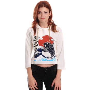 Oblečenie Ženy Mikiny Fornarina SE176842F42709 Biely