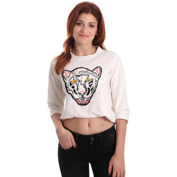 Oblečenie Ženy Mikiny Fornarina SE176844F42709 Biely