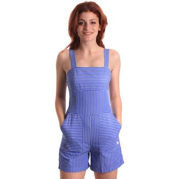 Oblečenie Ženy Módne overaly Fornarina SE178D80CA1411 Modrá