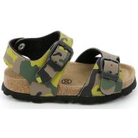 Topánky Deti Sandále Grunland SB0169 Zelená