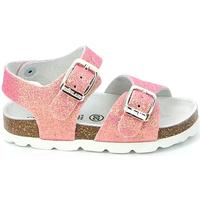 Topánky Dievčatá Sandále Grunland SB0024 Ružová