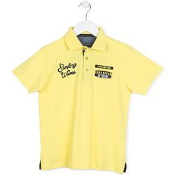 Oblečenie Deti Polokošele s krátkym rukávom Losan 713 1032AA žltá