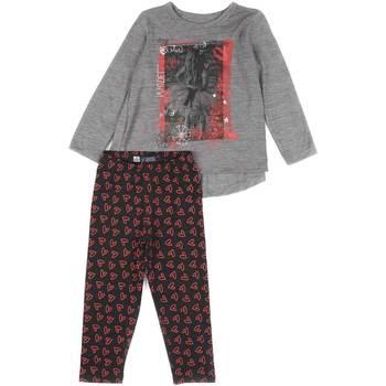 Oblečenie Dievčatá Komplety a súpravy Losan 626 8016AD Šedá