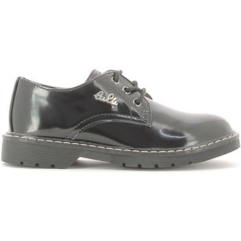 Topánky Deti Derbie Lulu LL130009S čierna