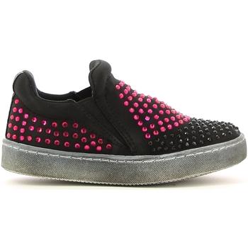 Topánky Dievčatá Slip-on Lulu LS150024T čierna