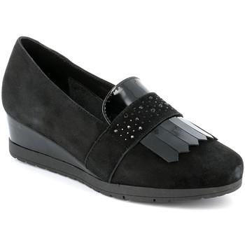 Topánky Ženy Mokasíny Grunland SC4786 čierna